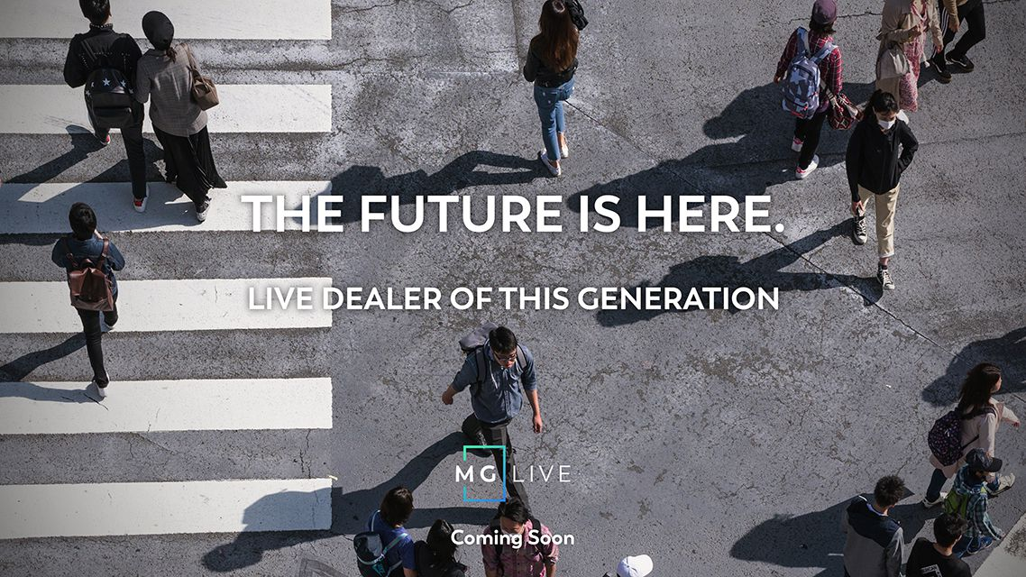 The Future is Here. Live Dealer of This Generation.